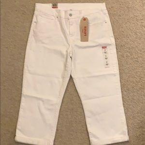 Levi's Jeans - Levi's white carpi